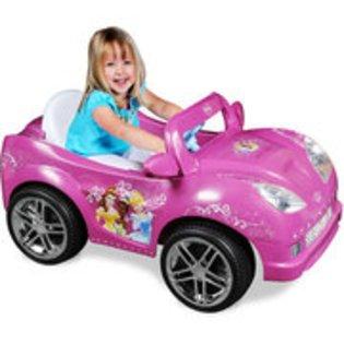 Amazon.com   Disney Princess Girls  Convertible Car 6-Volt Battery ... 1c9554ad7ddc