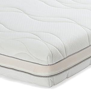 AmazonBasics - Materasso singolo extra comfort in memory foam a 7 ...