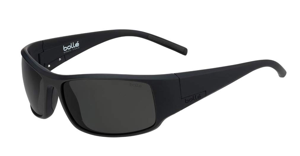 Bollé King Sunglasses Matte Black Large Unisex by Bolle