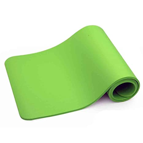 BMY Esterillas de Yoga 10 mm Protección Ambiental Espesar ...