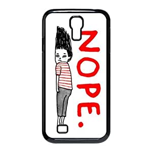 nope Personalized Case for SamSung Galaxy S4 I9500,custom nope Phone Case