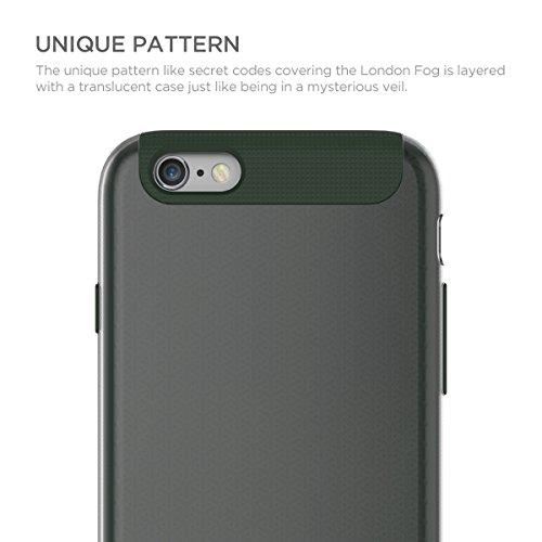 STI:L Stilmind London Fog Coque iPhone 6/6S Vert
