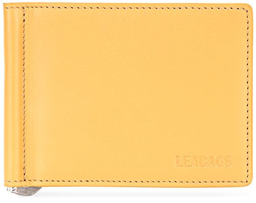 LEABAGS Scranton genuine calfskin leather wallet in vintage style - - Wallet Manga