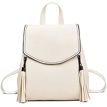 Amazon.com: I IHAYNER Women Fashion Backpack Leather Flap