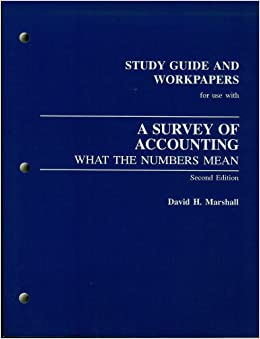 accounting what the numbers mean Accounting : what the numbers mean by daniel f viele david h marshall wayne william mcmanus a copy that has been read, but remains in excellent condition pages.