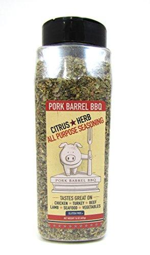 Pork Barrel BBQ Citrus & Herb All Purpose Seasoning, 16 Ounc