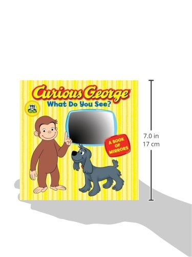 Amazon Curious George What Do You See CGTV Board Book 9780547182636 H A Rey Books