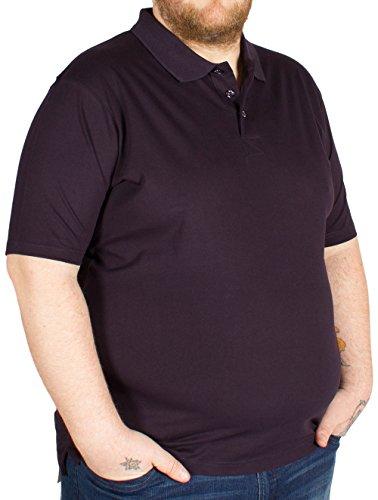 Kam Herren Poloshirt schwarz schwarz