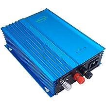 SOYOSOURCE 500W Pure sine Wave Grid tie Inverter forr Solar Panels Voc-Input:26V-45V vmp 24v-35v or for 24V batterty Discharge Output Power Adjustable Home Solar System (500W-ADJ-DC:26V-45V)