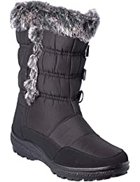 wolfsburg4 Women Winter Boots Mid-Cap Fur Lining Cold-Weather Shoes