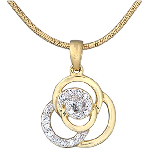 Annaleece 22K Gold and Rhodium Plated