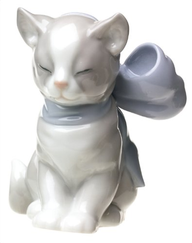 Nao Kitty Present Porcelain Figurine
