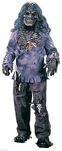 Zombie Complete Child Costume - (Medium (8-10))