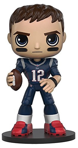Funko Wobbler: NFL - Tom Brady Action Figure (Bobble Tom Head Brady)