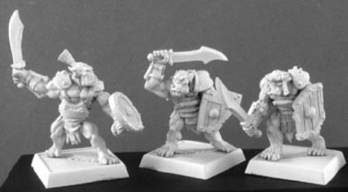 3 Lesser Orc Warriors Discontinued
