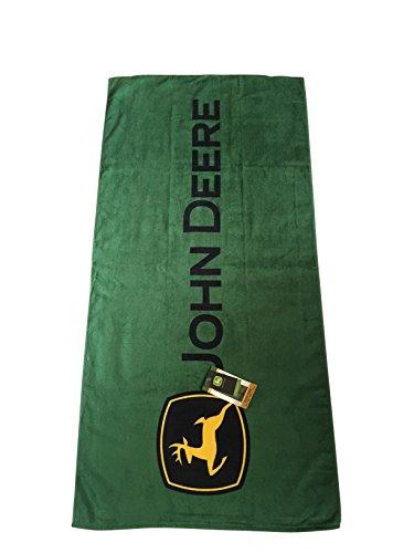 "John Deere Adult Size Beach Towel 30"" x 60"""