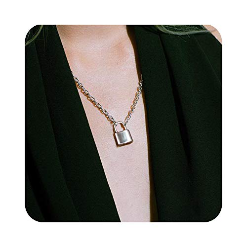 The 10 best lock chain necklace
