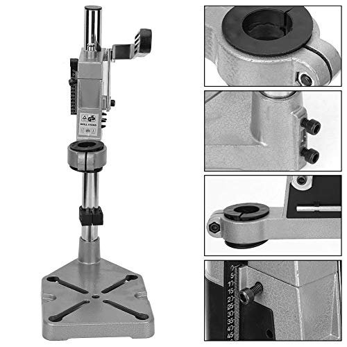 Mini Benchs Drill Fixing Bracket, Universal Clamp Drill Press Stand Workbench Repair Tool for Drilling Press TOP Collet, Drill Press Table