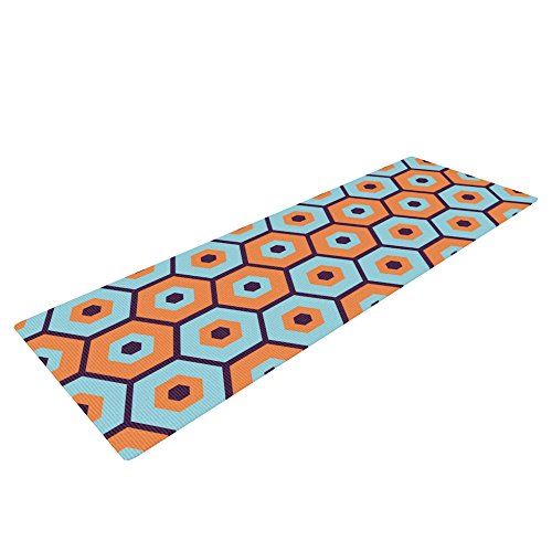 UPC 751354752281, Kess InHouse Budi Kwan Yoga Exercise Mat, Busy, 72 x 24-Inch