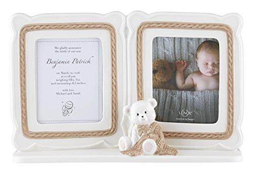 Lenox Baby Bear Double Frame