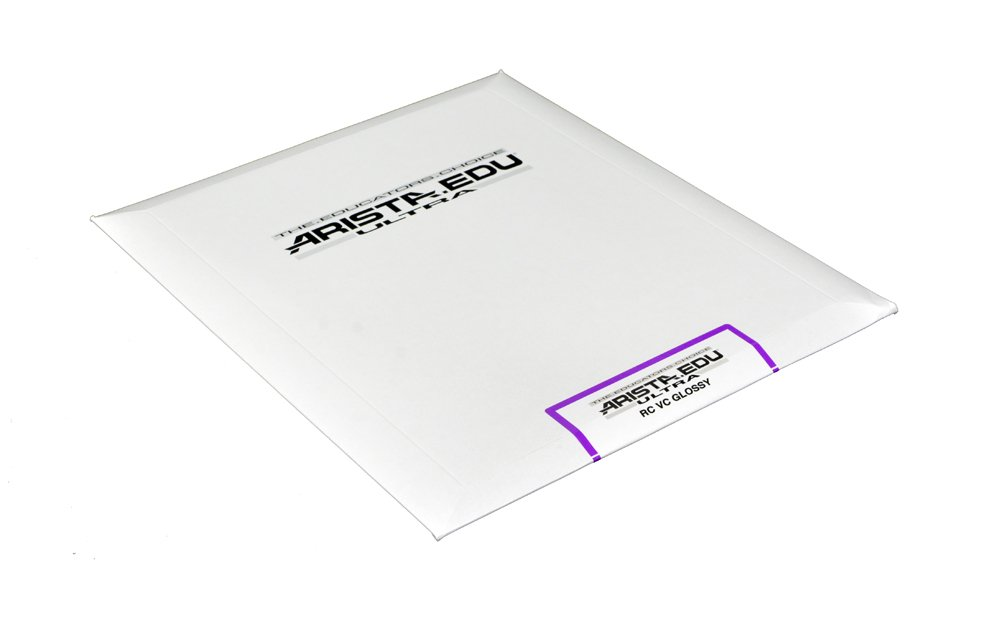 Arista EDU Ultra VC RC Black & White Photographic Paper, Glossy 8x10, 25 Sheets by Arista
