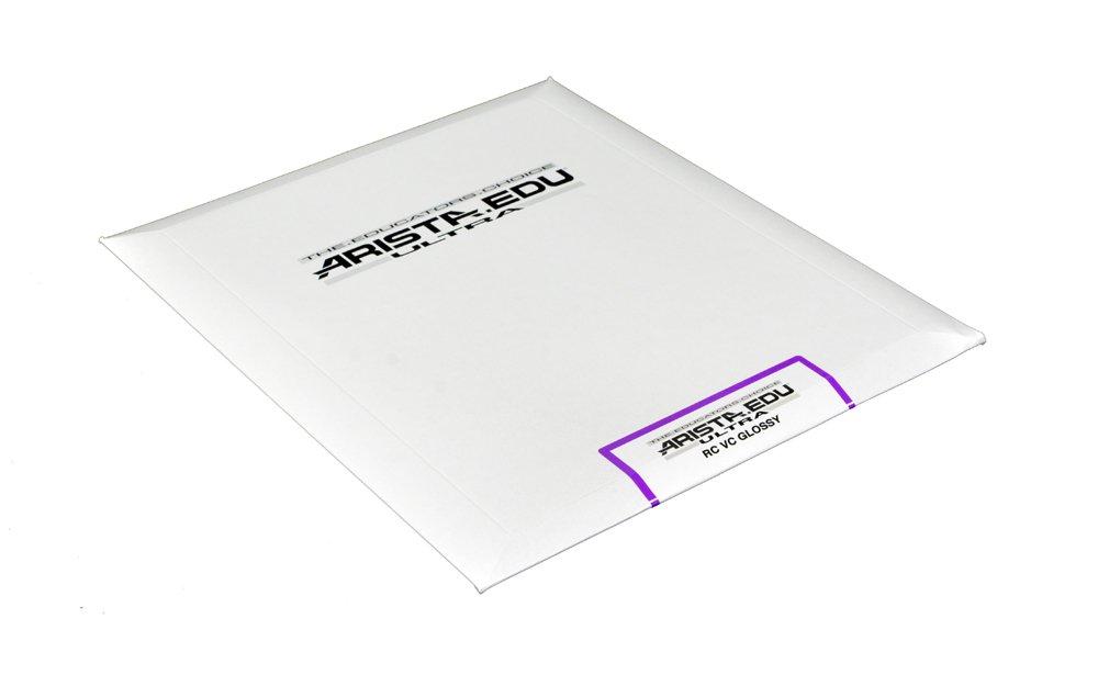 Arista EDU Ultra VC RC Black & White Photographic Paper, Glossy 8x10, 25 Sheets