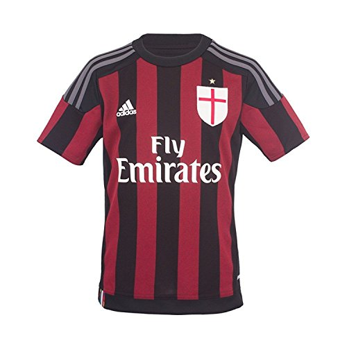 adidas Youth AC Milan Home Jersey (YL) Red-Black