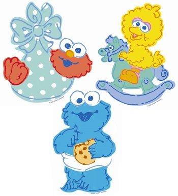 Sesame Street Beginnings Dangling Decorations