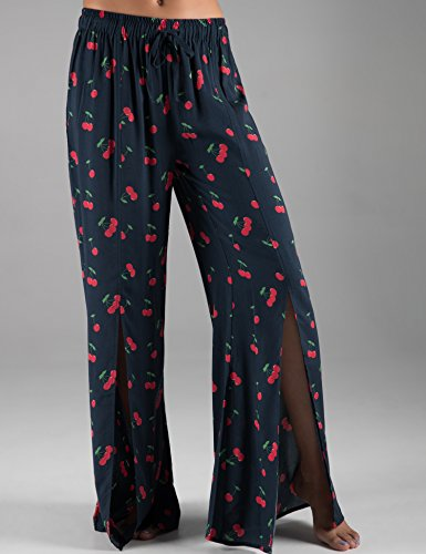 Rebel-Canyon-Young-Womens-Tie-Front-Wide-Leg-Pajama-Pant