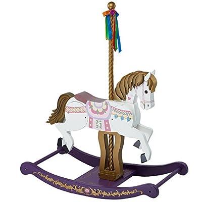 Teamson Kids Carousel Wooden Rocking Horse