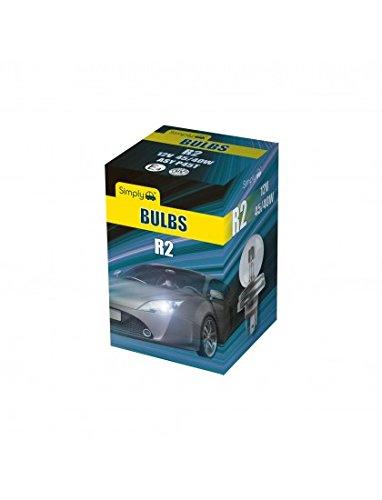 Simply S410 R2 Car Headlight Bulb 12 V