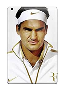 Lori Cotter Elodie's Shop Anti-scratch And Shatterproof Roger Federer Phone Case For Ipad Mini/ High Quality Tpu Case