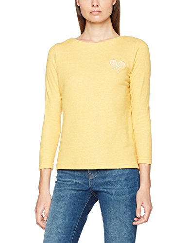 yellow Para Mujer Rosana Blusa Pepaloves Top Amarillo ZRnf0