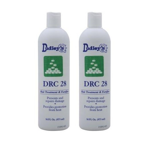 Dudleys DRC 28 Hair Treatment and Forifier 16oz (Pack of 2)