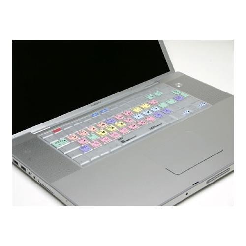 LogicKeyboard LogicSkin Adobe Premiere Pro CS3 for Apple Mac Book Pro & PowerBook G4 US Keyboard -  LS-PPRO3-MBPC-US