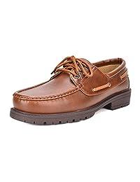 Bruno Marc Men's HANKOK-01 Boat Shoes Moccasins Oxfords