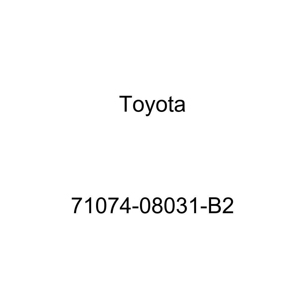 TOYOTA Genuine 71074-08031-B2 Seat Back Cover