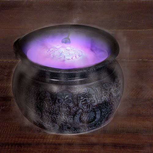 Halloween Punch Witches Brew - Seasons Misting Cauldron Halloween Decoration, 7