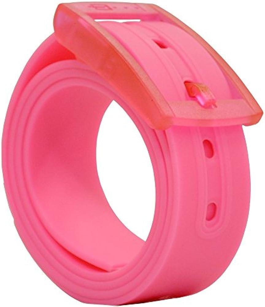 PlugBelt Rosa Electrico - Cinturon de golf para hombre, silicona ...
