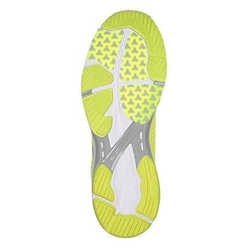 Hombre 23 De Running Zapatillas Para gris blanc Jaune Trainer ds Asics Fluo Gel Clair qnwXtZR88