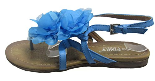 10 Blue M Flat Pinky US 18 Kiri D Womens Shoe Via U0IAqU