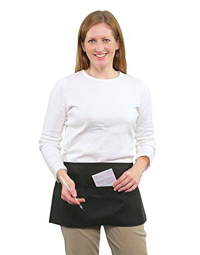 Pocket Waist Apron 100 Black