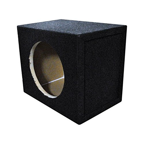 Qpower Single 8' Sealed Woofer Box (QSOLO8) [Electronics] Q Power