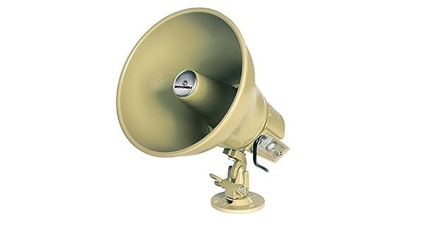 Bogen 15 watt Amplified Horn 1168130 Accessories Coaches' & Referees' Gear WMU