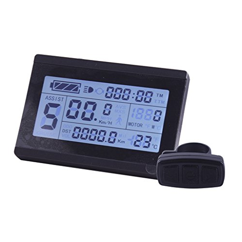 ZOOMPOWER 24v 36v 48v intelligent kt lcd lcd3 ktlcd3 control panel display electric bicycle bike parts kt controller by ZOOMPOWER
