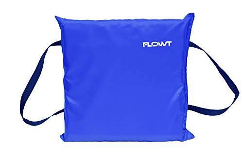 - Flowt 40101 Type IV Throwable Floatation Foam Cushion, USCG Approved, Blue