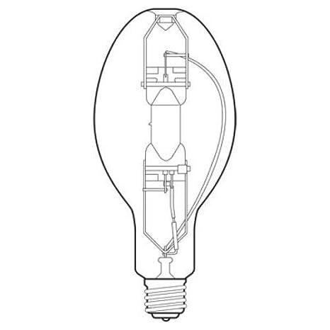 36000v Lumen Ed37 Light Bulb With