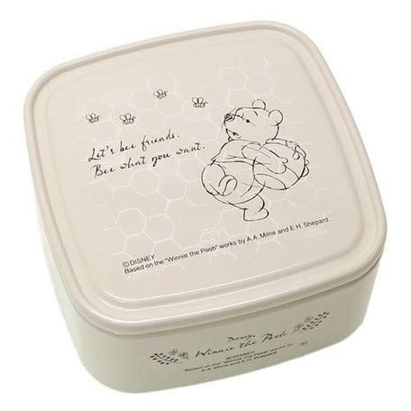 - [Lunch Box Seal Container] Winnie The Pooh/Pack Lunch Box S/bee Ivory/Winnie The Pooh/Pack Lunch Box S/bee Ivory