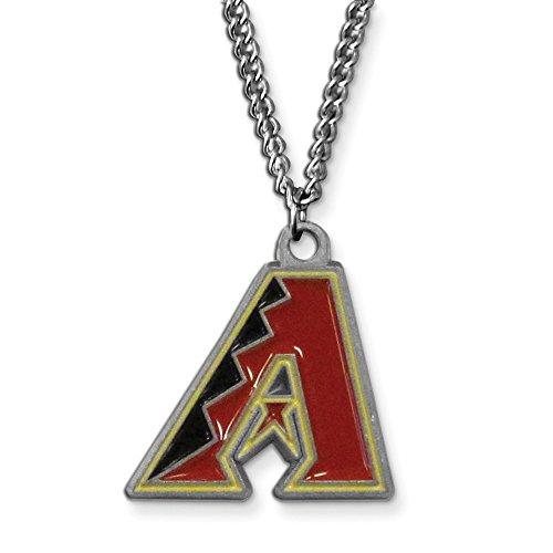 Gifts Licensed Gifts MLB Siskiyou Buckle Arizona Diamondbacks 20 inch Chain Necklace Arizona Diamondbacks Chain Necklace