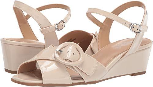 Aerosoles Women's Hornet Wedge Sandal, Nude Patent, 10 M US ()
